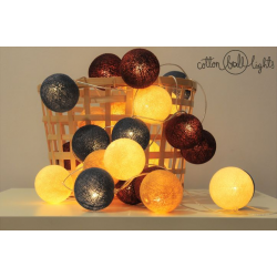 20 kul Rolling Stones  Cotton Ball Lights