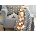 35 kul Pretty Pleasure Cotton Ball Lights