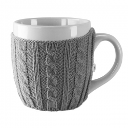 Kubek 500 ml w sweterku Knitted Mug