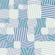 TAPETA SQUARE STRIPES COLOR MARINE