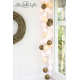 Girlanda 10 kul BY GREEN CANOE NATURAL Cotton Ball Lights