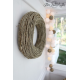 Girlanda 35 kul BY GREEN CANOE NATURAL Cotton Ball Lights