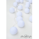 Girlanda na zewnątrz OUTDOOR 20 KUL PURE WHITE Cotton Ball Lights