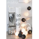 Girlanda 20 kul BLACK&WHITE Cotton Ball Lights